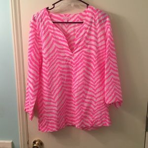 Lilly Pulitzer Blouse Large